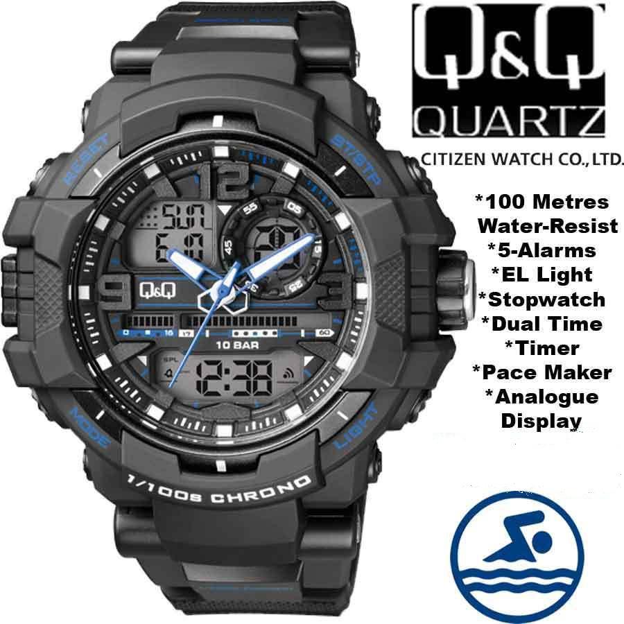 314866ed Мужские наручные часы Q&Q GW86J003Y в Киеве. Купить часы GW86J003Y ...