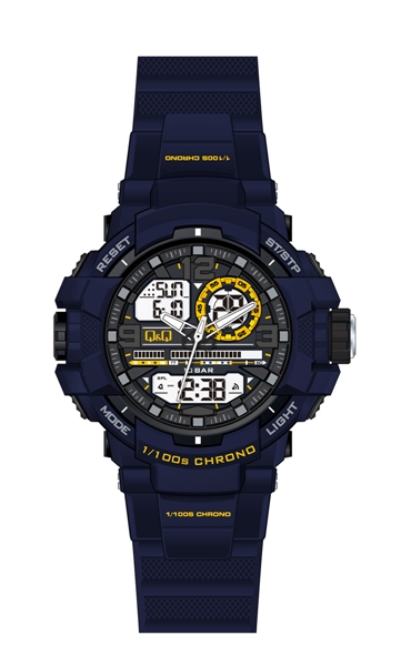 Мужские часы Q&Q GW86J804Y