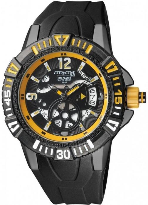Мужские часы Q&Q DA72J512Y