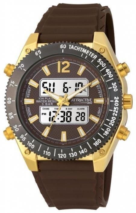 Мужские часы Q&Q DE00-102