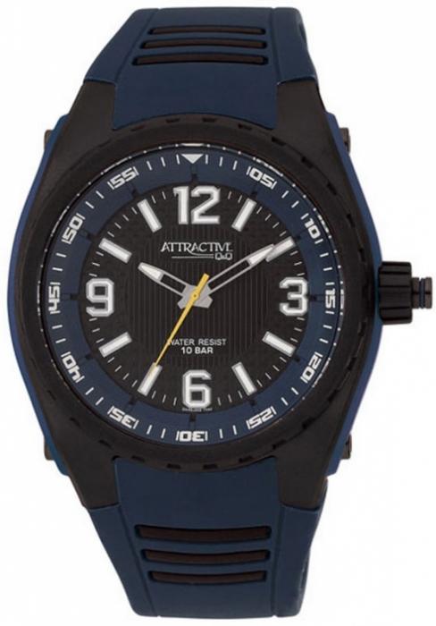 Чоловічий годинник Q&Q DA48J005Y