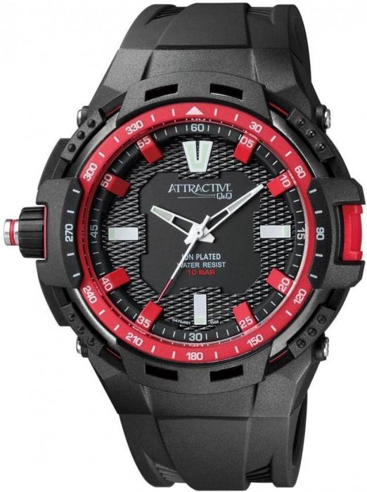 Мужские часы Q&Q DA70J004Y