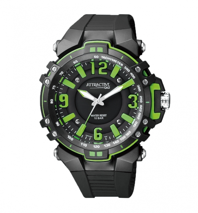 Мужские часы Q&Q DG04J001Y